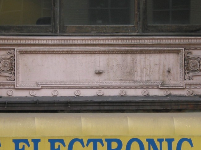Macy's ghost sign