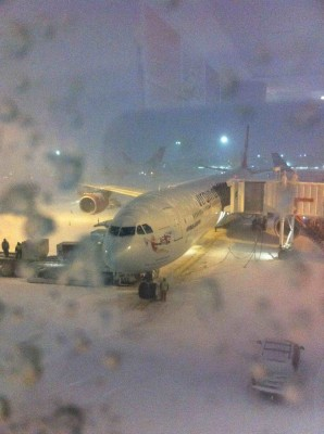 virgin atlantic snow