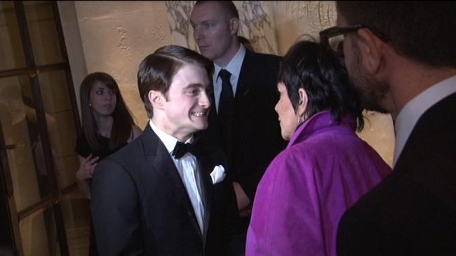 Daniel Radcliffe meeting Liza Minnelli