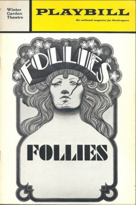 Follies original production Playbill