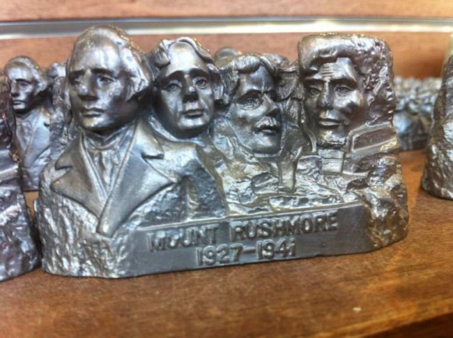 Bad Mount Rushmore souvenir