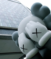 KAWS statue at The Standard New York
