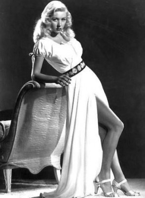 Gloria Grahame as a vamp