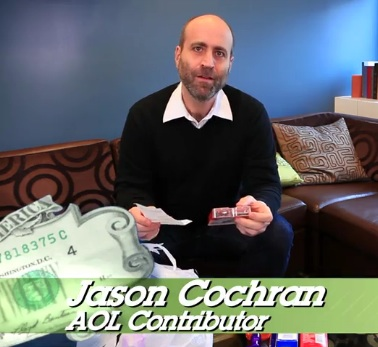 Jason Cochran in Bank of America's The Savings Experiment on AOL
