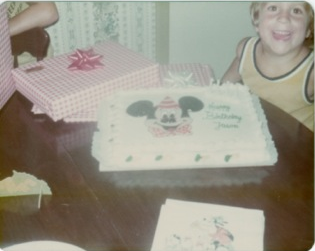 I demanded Mickey cakes for several years running. I was in love.