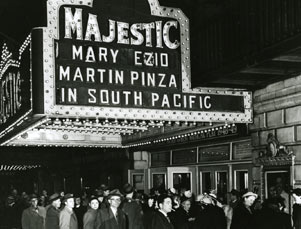 Image result for debut of south pacific on broadway